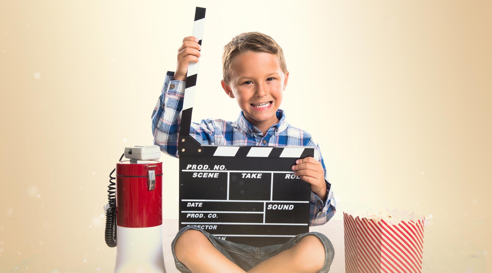 Barn som regisserar