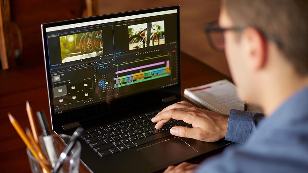 Dator för videoredigering